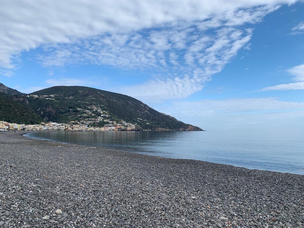 La spiaggia di Canneto - Lipari
