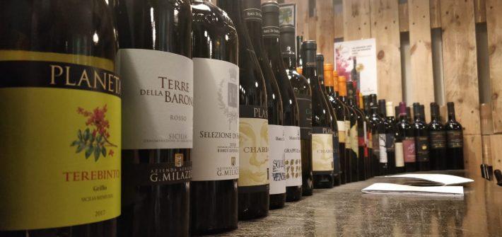 Strade del vino in Sicilia