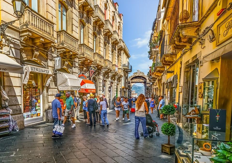 A passeggio per Taormina