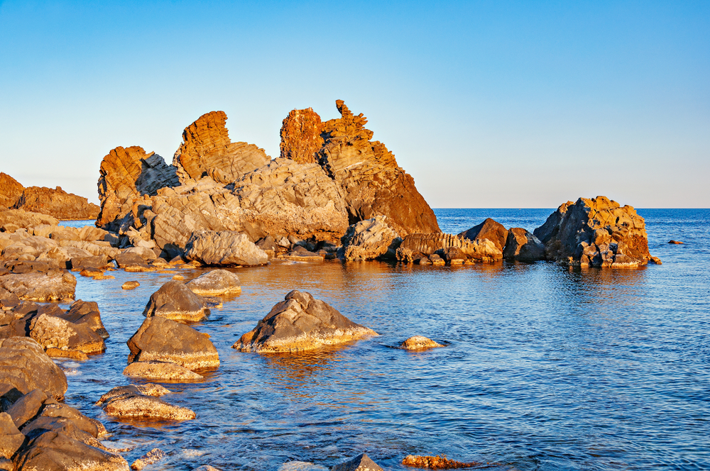 Il mare di Acireale