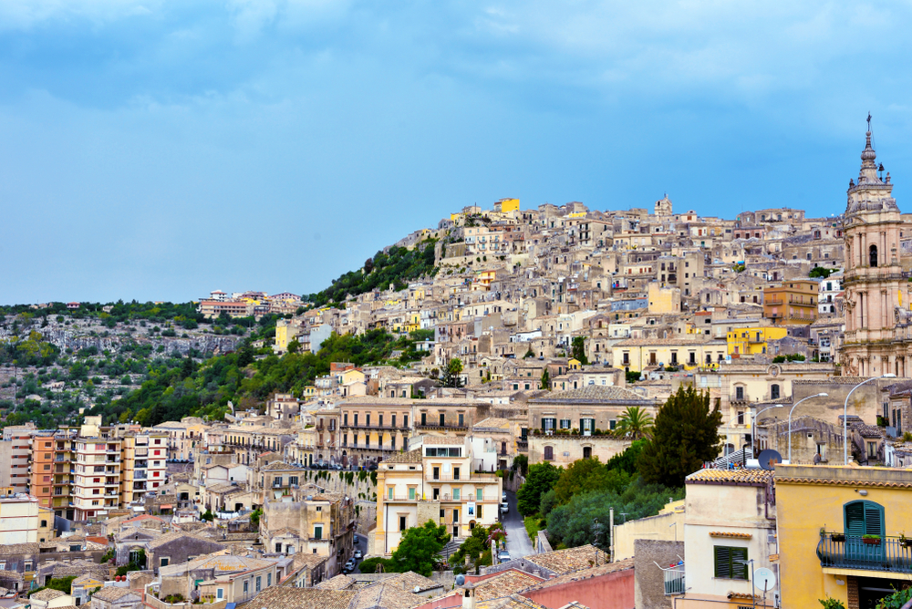 Il panorama di Modica