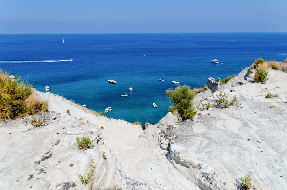 Lipari, Spiagge Bianche