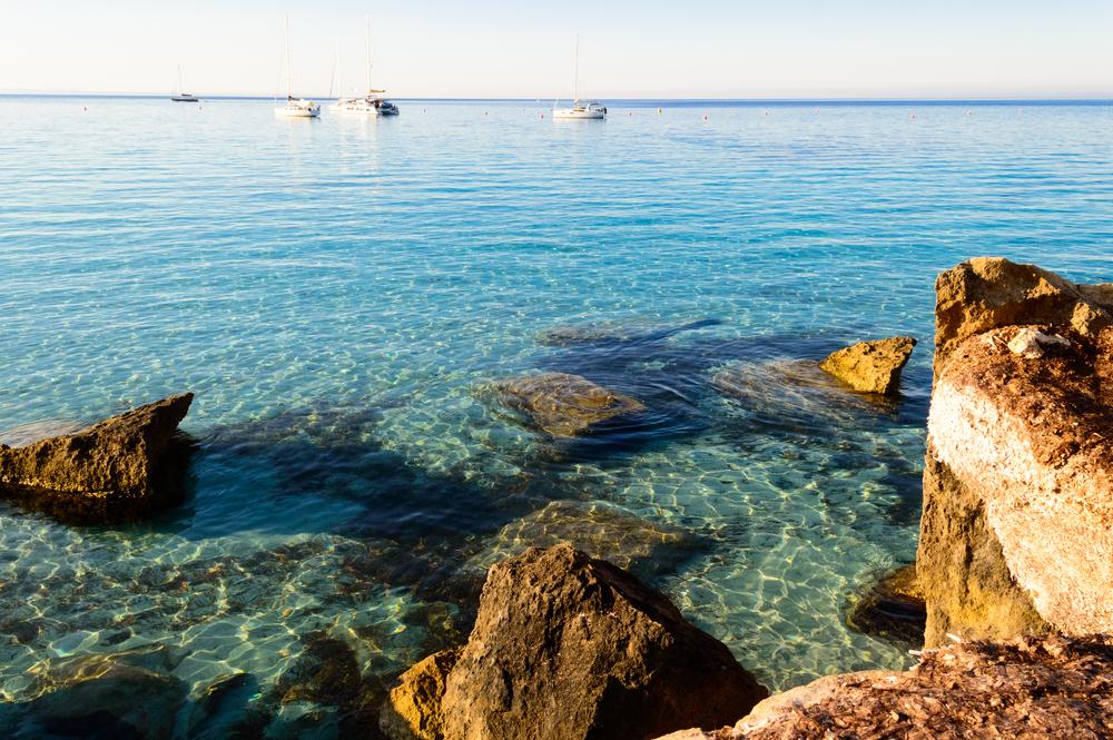 Il mare di Cala Azzurra