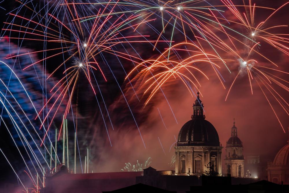 Festa di Sant'Agata, fuochi d'artificio