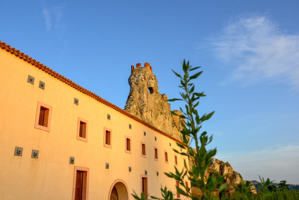 Caltanissetta, Castello di Pietrarossa