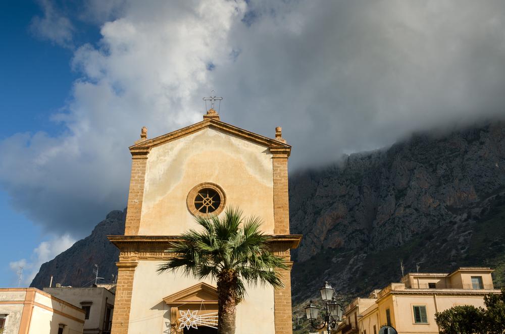 Una chiesa di Cinisi