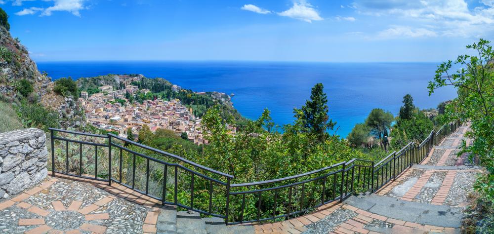 Strada panoramica di Castelmola