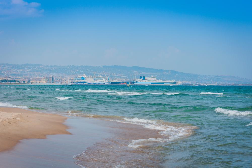 Catania, Playa
