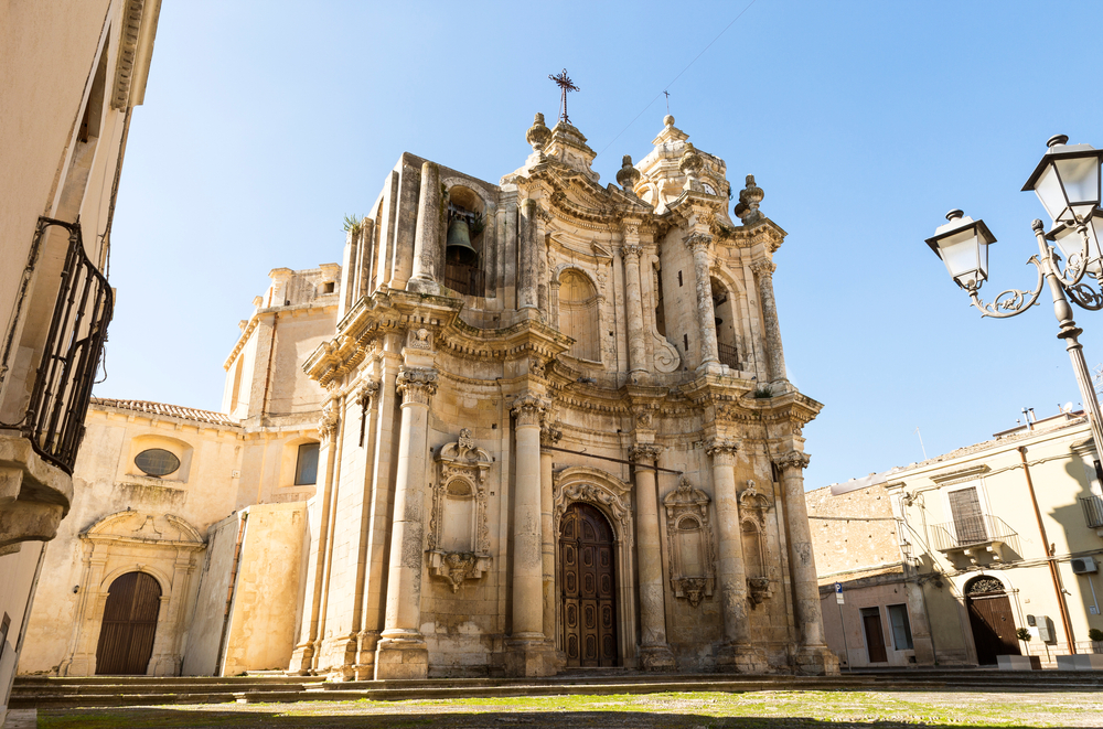 Ferla, Chiesa di S. Antonio Abate