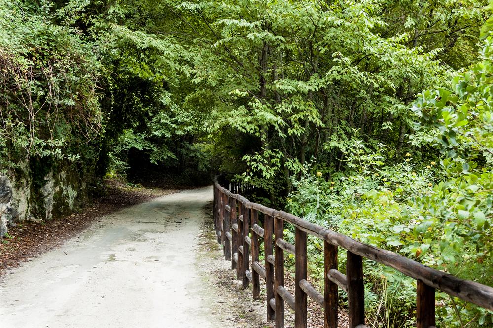 Un sentiero vicino Ferla