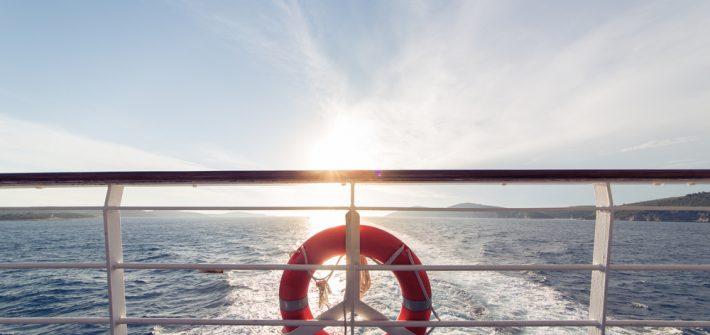 Traghetto per le Eolie